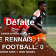 NATIONAL 2: L'ACBB football plonge dans le doute face au Stade Rennais