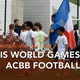 L'ACBB football Préformation aux Paris World Games